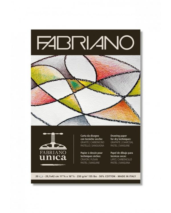 250gsm - Fabriano Unica Pad