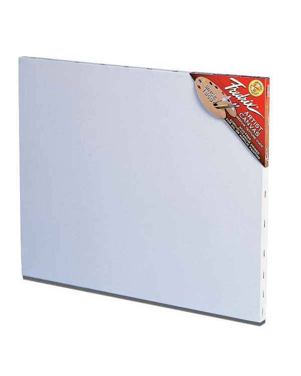 "3/4"" (2cm) Deep Fredrix Red Label Canvas"