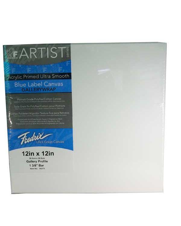 """16 x 20"""" - Blue Label Ultrasmooth Canvas - Fredrix"""