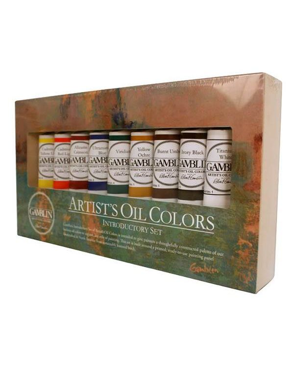 Gamblin Artist's Oil Colours Introductory Set