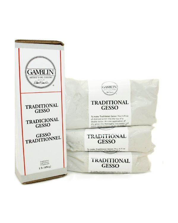 Gamblin Traditional Gesso - 454g