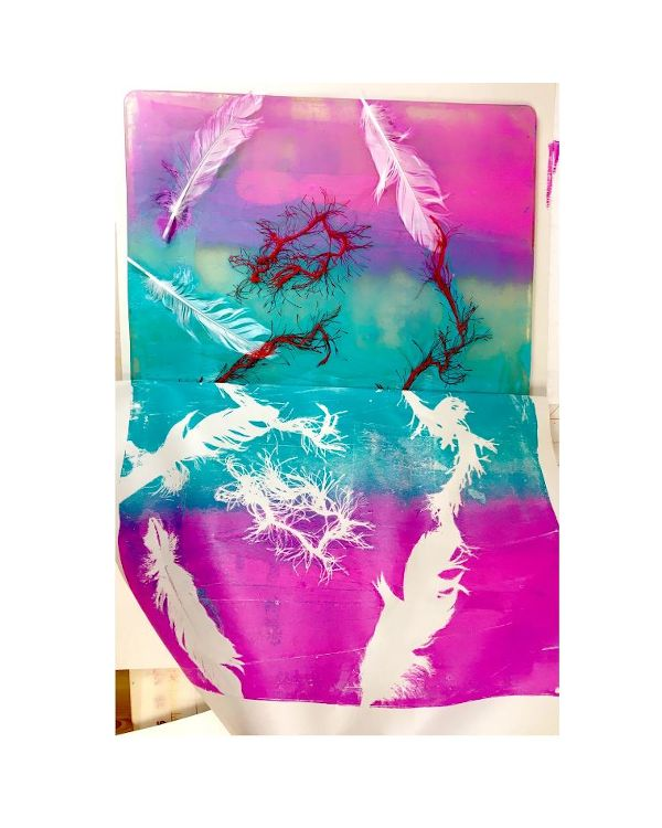 "16 x 20"" - Gelli Printing Plate"