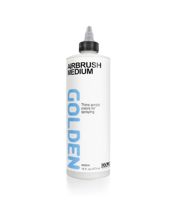473ml - Golden Airbrush Medium