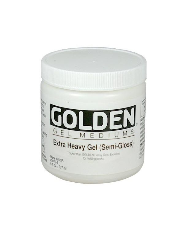 Semi Gloss - 473ml - Golden Extra Heavy Gel