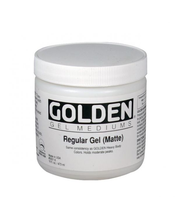 Matte - 473ml - Golden Regular Gel