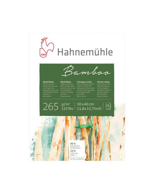 30 x 40cm 265gsm - 25 sheets - Hahnemühle Bamboo Mixed Media Pad