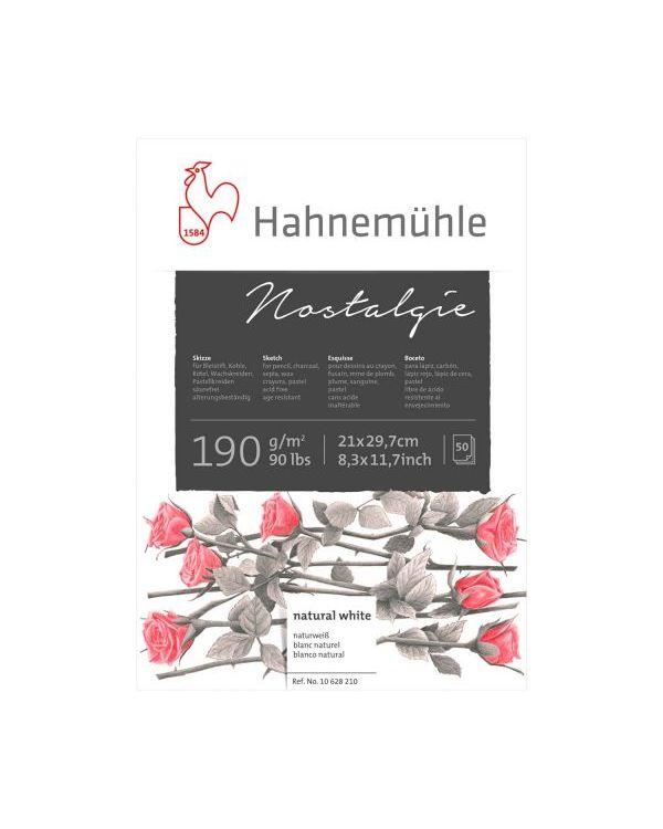 A4 - 50 sheets - 190gsm - Hahnemühle Nostalgie Sketch Pad