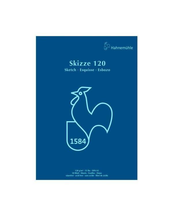 120gsm - Hahnemühle Skizze Glued Sketch Pad