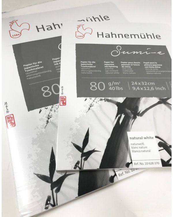 80gsm - 20 sheets - Hahnemuhle Sumi-e Pad