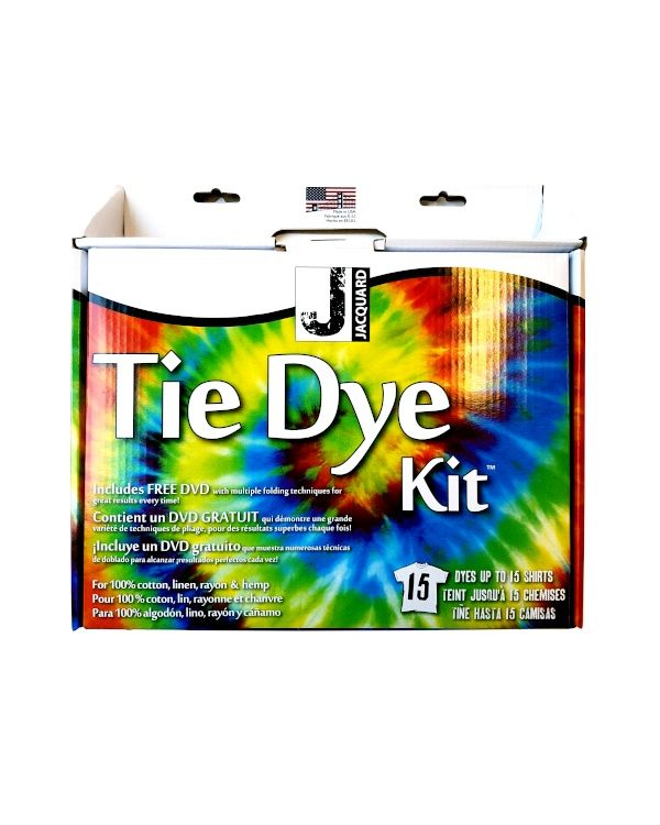 Tie Dye KIT Large with DVD JAC9325 - Jacquard