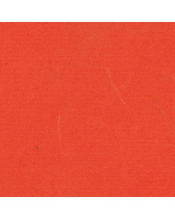 *Dark Orange - Plain Coloured Japanese Paper