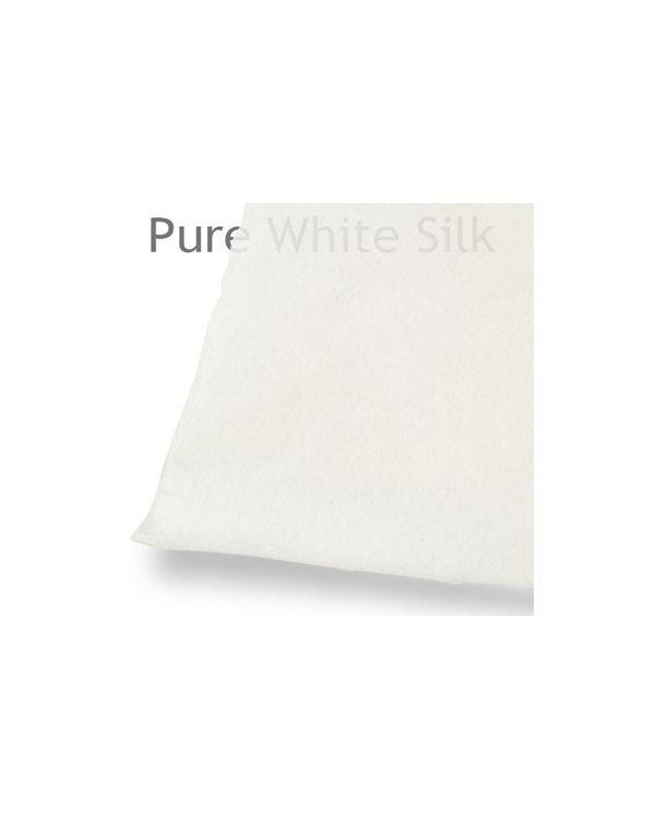 * Pure White Silk paper 100x66cm 62gsm