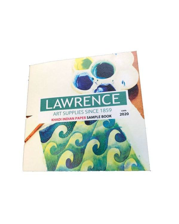 Lawrence Khadi Indian Paper Sample Book