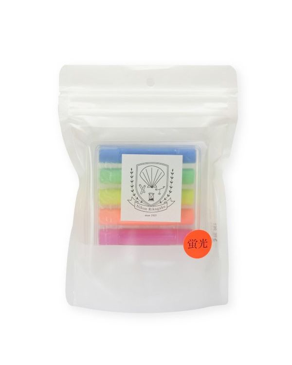 Kitpas Dustless chalk pack Neon