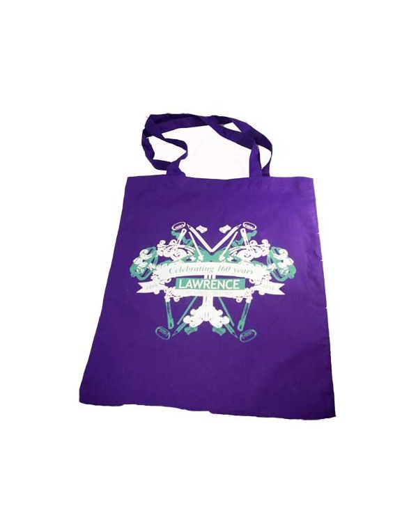 160 Year Tote Bag Lawrence Logo