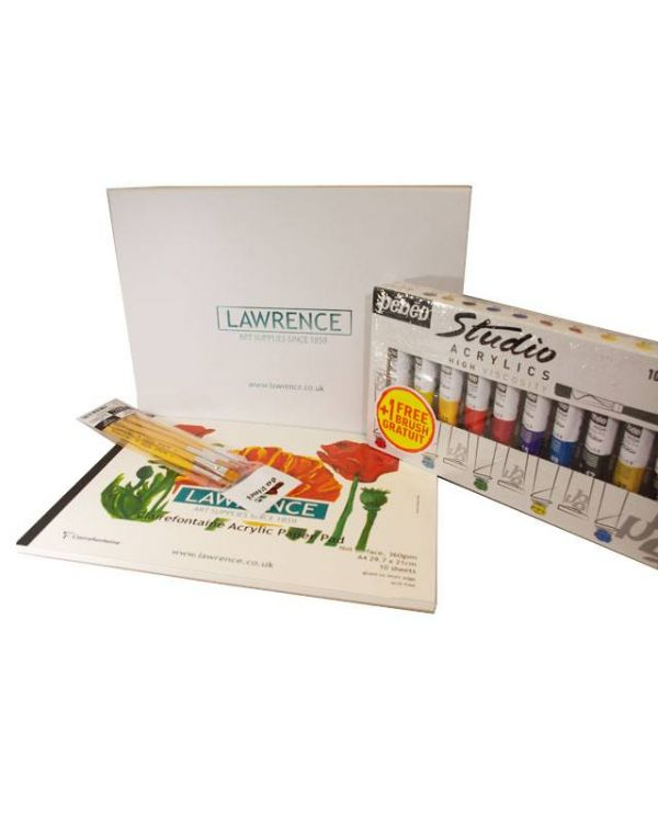 Lawrence Acrylic Starter Set
