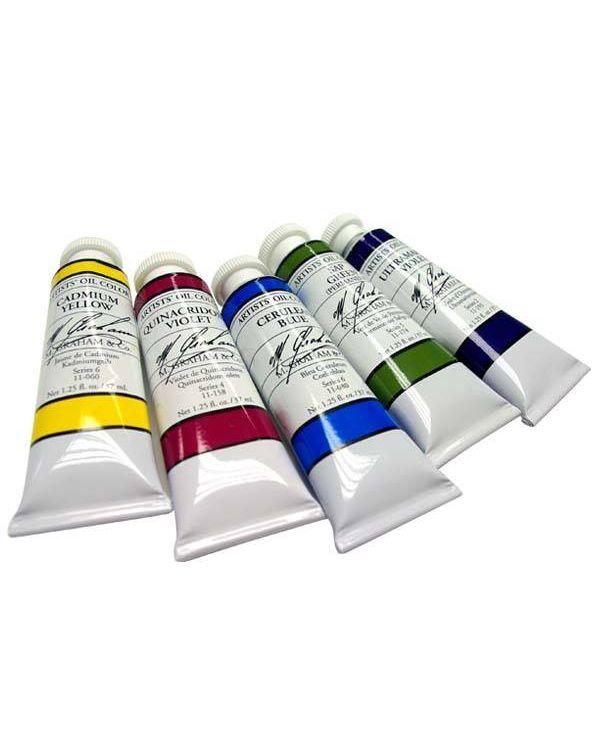 M Graham Oil Paints