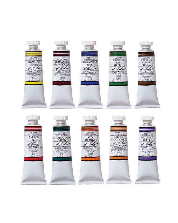 15ml - M Graham Watercolour Set