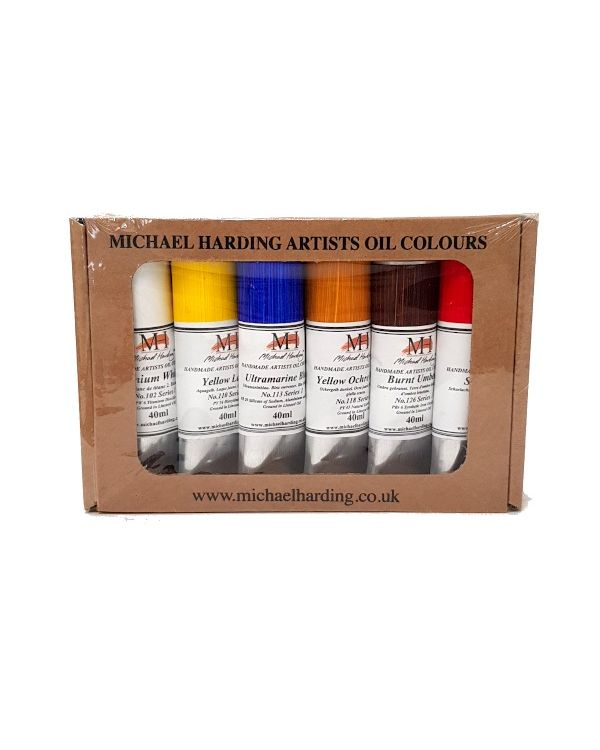 Introductory Set of 6 - Michael Harding 40ml Oil Set