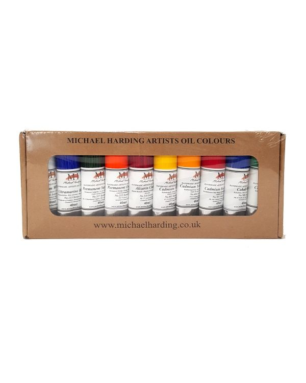 Plein Air Master Set of 10 - Michael Harding 40ml Oil Set