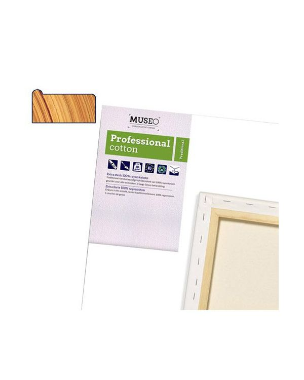 2cm Deep Museo Gesso Primed Cotton Canvas
