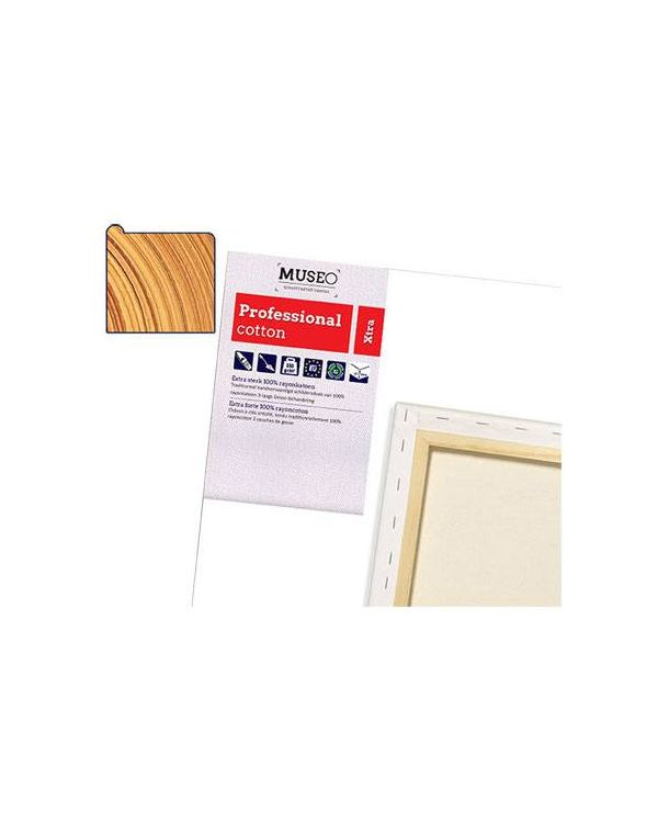 4cm Deep Museo Gesso Primed Professional Cotton Canvas