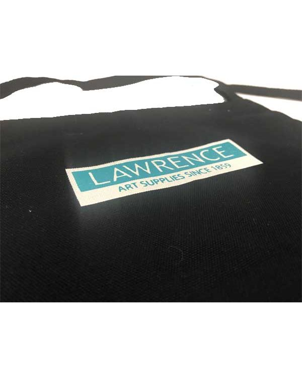 Black - Printed - Large Apron - Lawrence