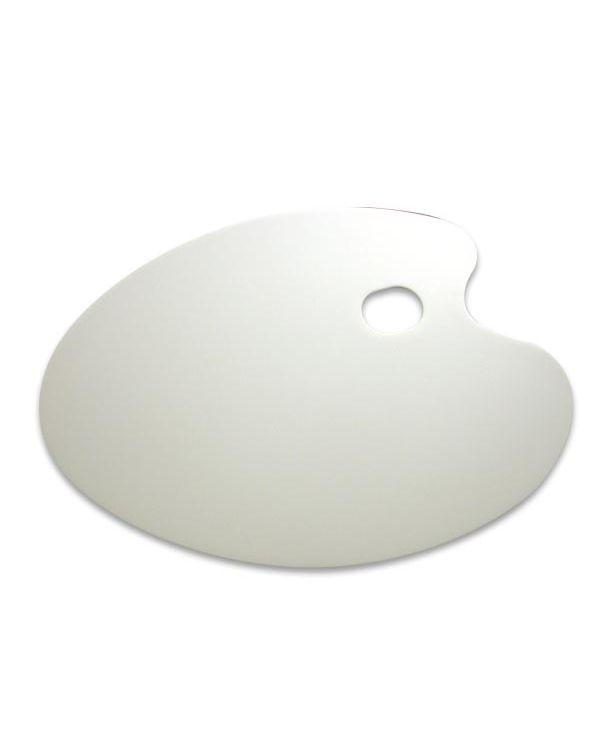 Perspex Palette White - 31x43cm Kidney -