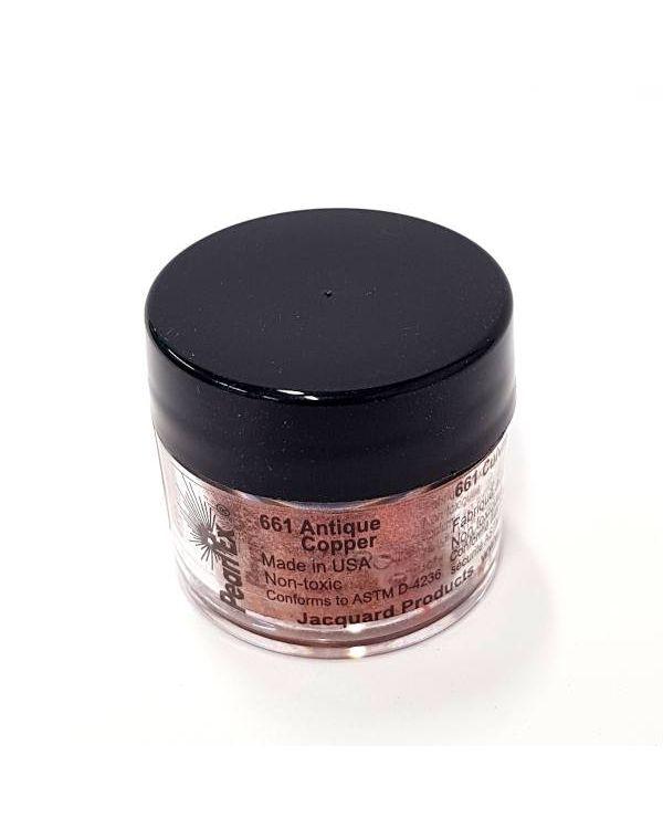 Antique Copper 661 - Pearlex Powder Pigment 3g Jar