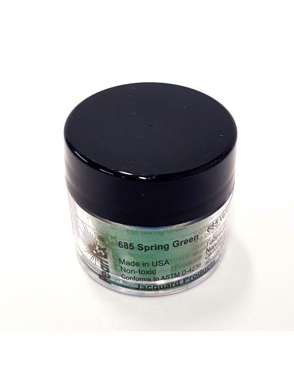 Spring Green 685 - Pearlex Powder Pigment 3g Jar