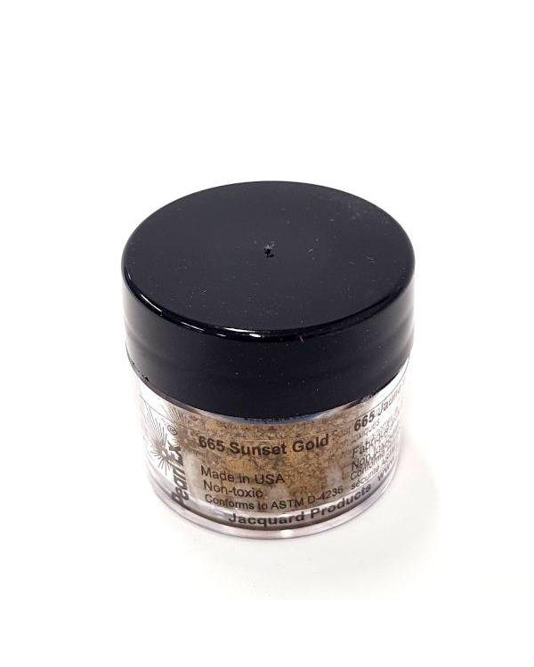 Sunset Gold 665 - Pearlex Powder Pigment 3g Jar