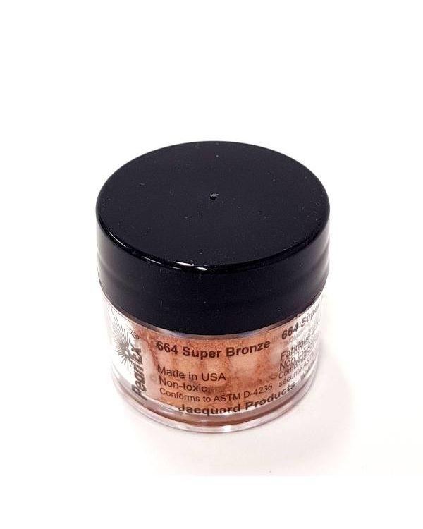 Super Bronze 664 - Pearlex Powder Pigment 3g Jar