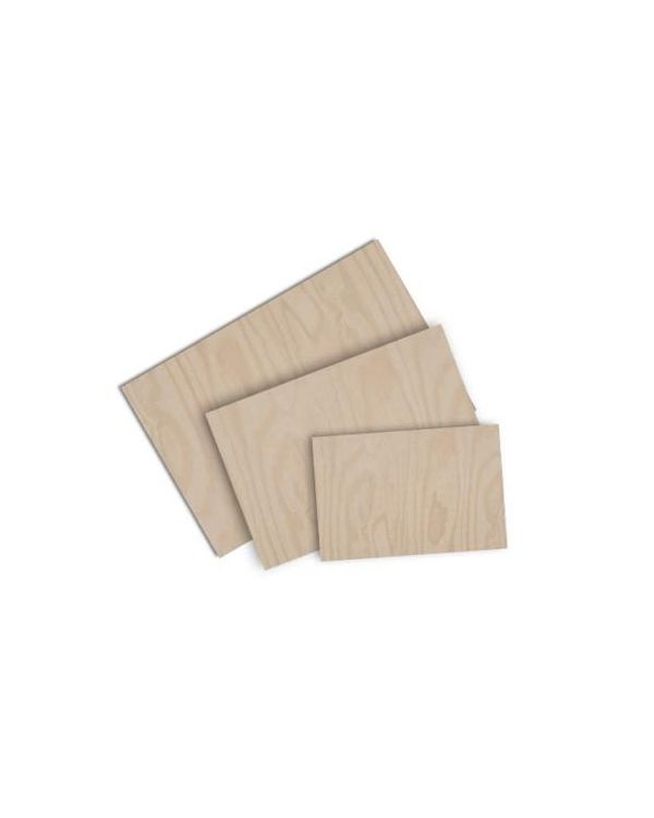 Plywood block -