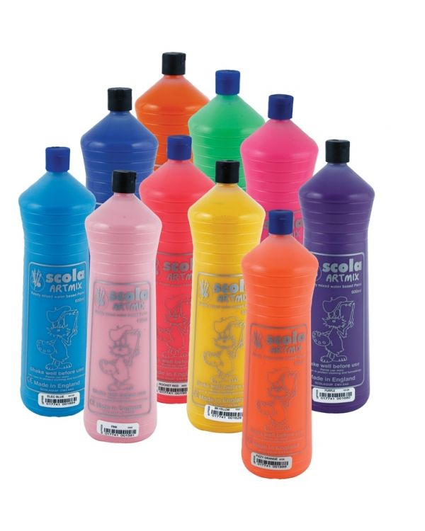 600ml Poster Colour - Ready Mix