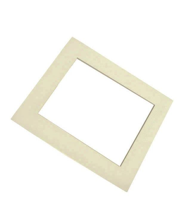 Antique White (Cream) Pre cut Mount
