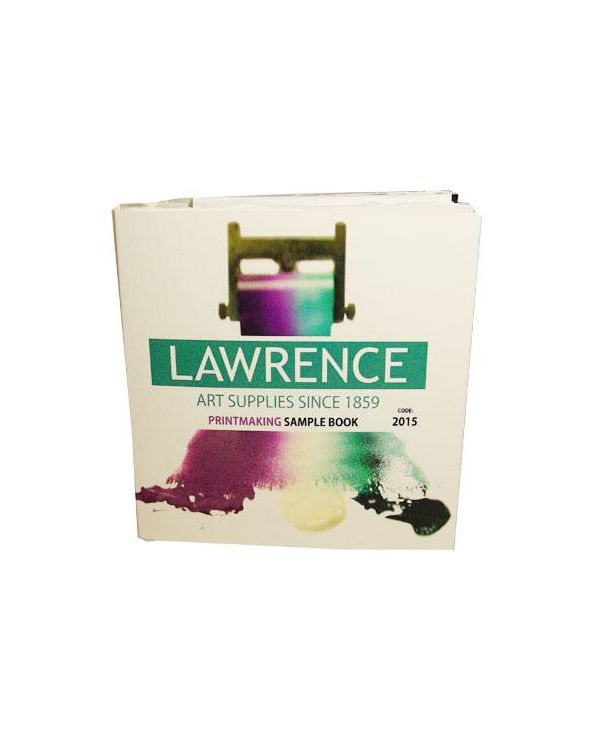 Lawrence Printmaking Paper Sample Book