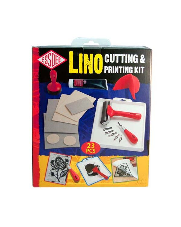 Essdee lino cutting and printing kit (23 pcs)