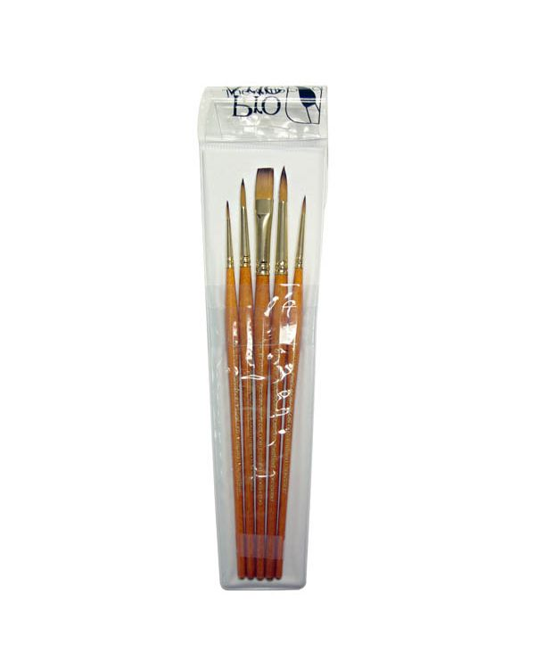 W2 Prolene Plus Watercolour Brushes - Pro Arte Brush Wallet