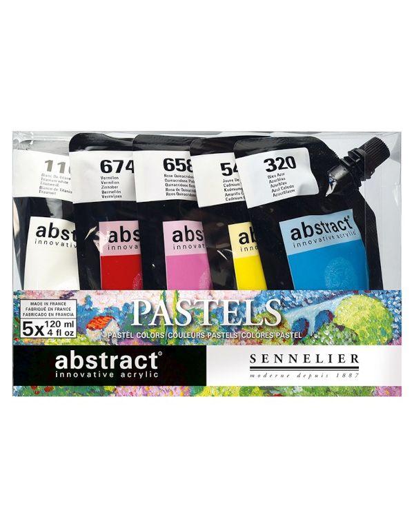 Pastel - Sennelier Abstract Set 5x120ml