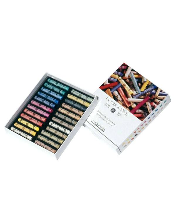 Iridescent Set of 24 - Sennelier Soft Pastels Set