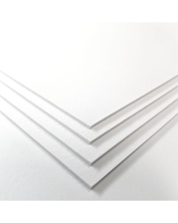 28 x 38 cm - 650 gsm - Somerset White Velvet - Pack of 20 Sheets