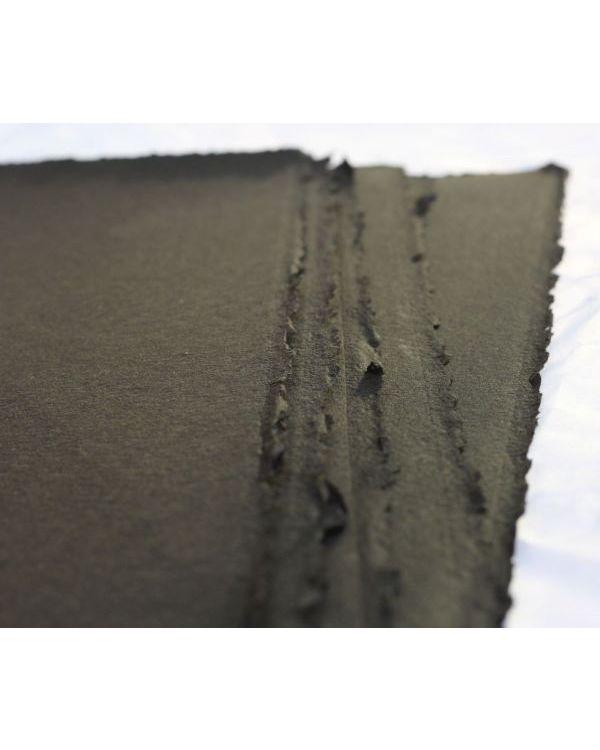 Black - 280gsm - 76 x 56cm - Somerset Printmaking Paper - Velvet