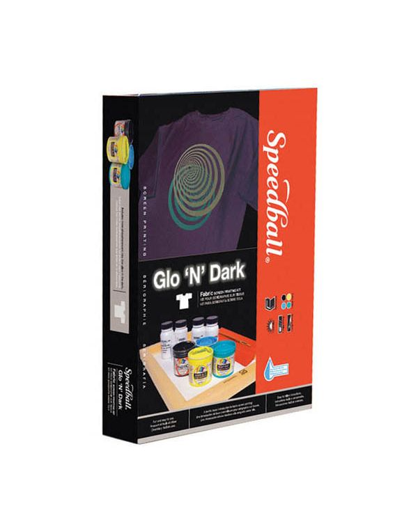 Glo 'N Dark Screen Printing Kit - Speedball