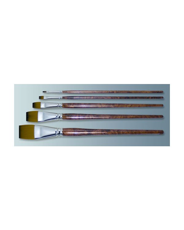 Lawrence Value brush- Synthetic General Purpose Flat