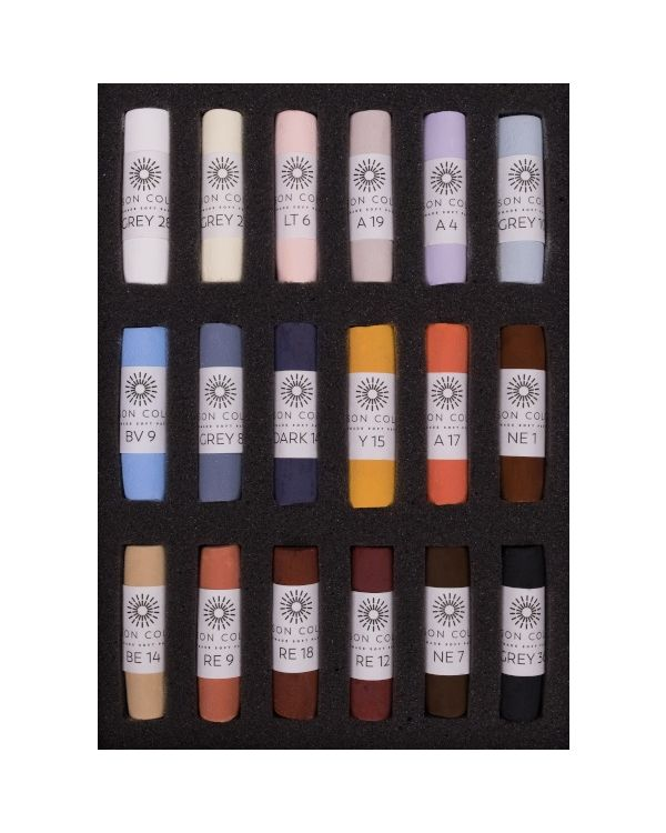 Emma Colbert Animal Set of 18 Pastels - Unison Pastel Set