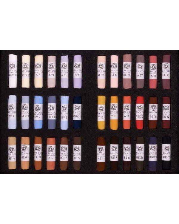Emma Colbert Animal Set of 36 Pastels - Unison Pastel Set