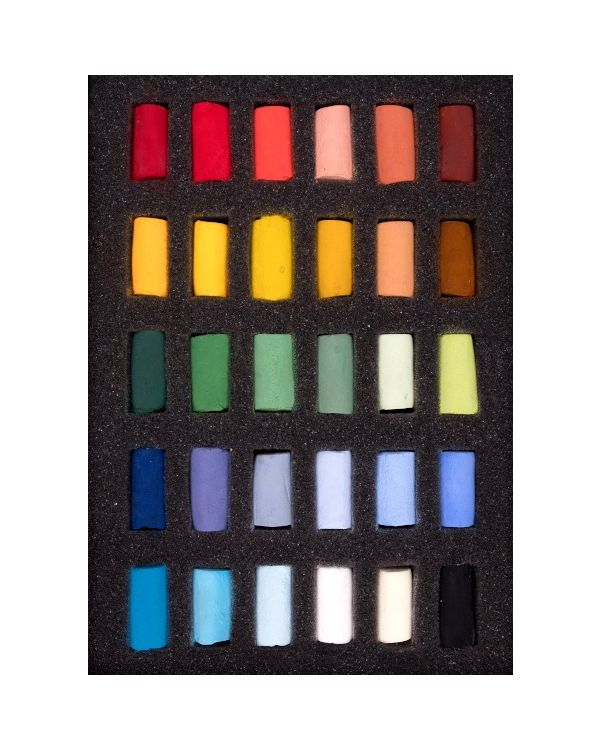 Starter Set of 30 Half Pastels - Unison Pastel Set