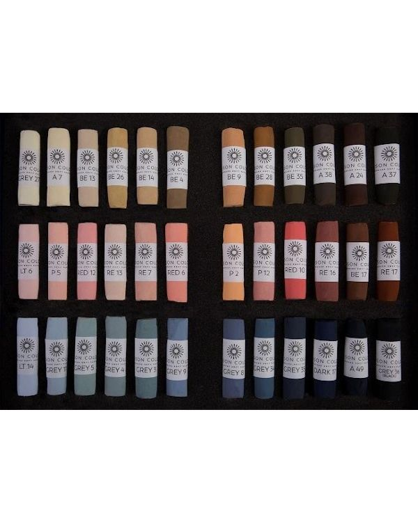 Portrait Set of 36 Pastels - Unison Pastel Sets