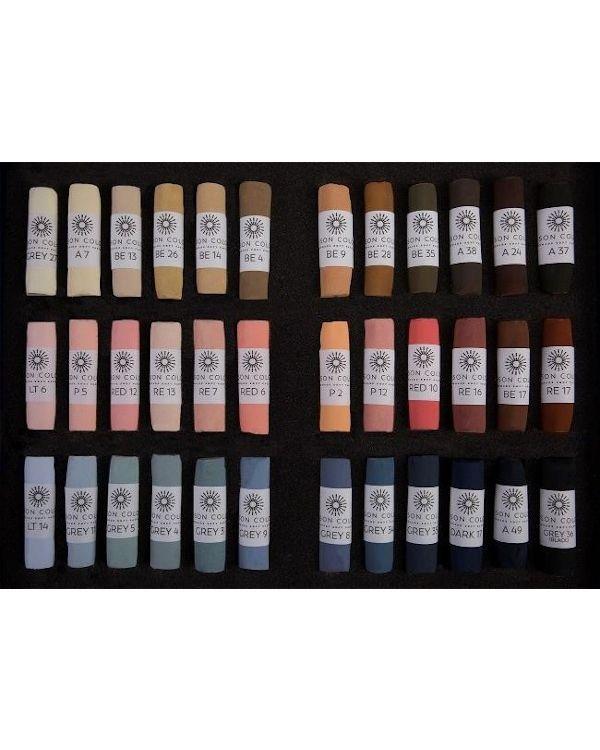 Portrait Set of 36 Pastels - Unison Pastel Sets