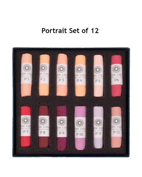 Portrait Set of 12 - Unison Pastel Set